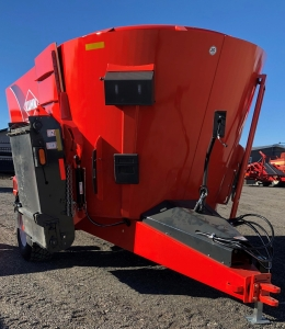 2018 Kuhn VT 168 Twin Screw Vertical Mixer