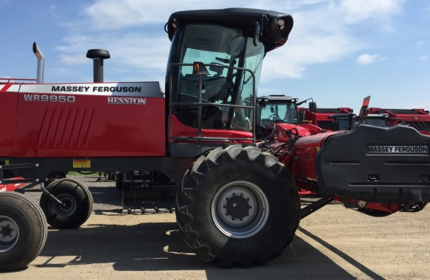 2018 Massey Ferguson WR9950 Windrower