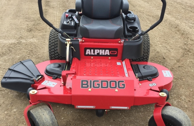 "BigDog Alpha MP 60"" ZT Mower"