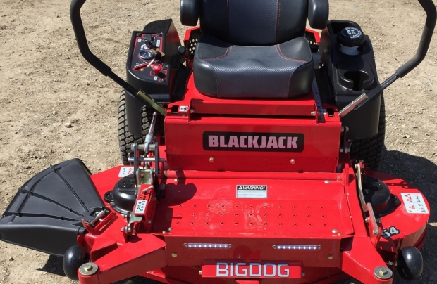 "2017 BigDog BlackJack 54"" ZT Mower"