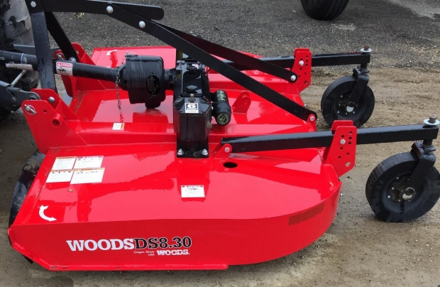 2018 Woods DS 8.30 Pull Type 8' Rotary Cutter