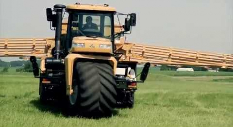 Constant Power with the CVT on TerraGator Floaters - Ryan Sosaman, Weldon Fertilizer