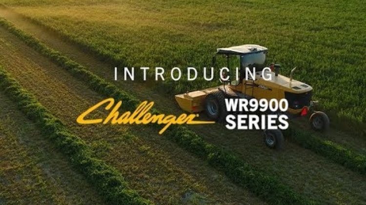 Introducing the Challenger WR9900 Series Self-Propelled Windrower