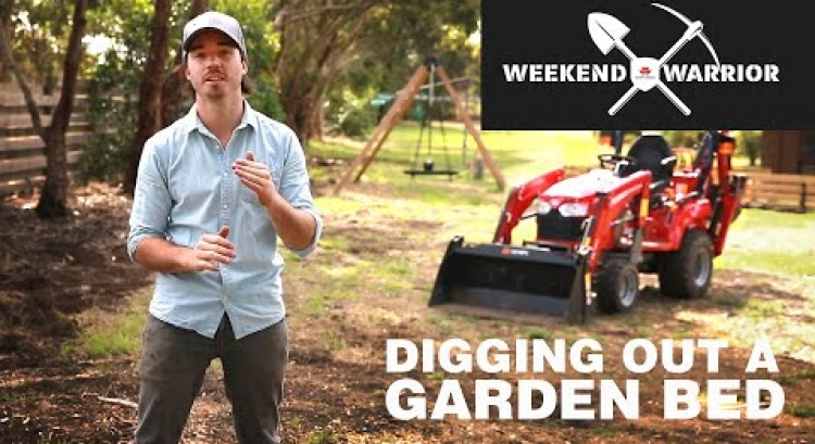 Weekend Warrior: Digging Out a Garden Bed