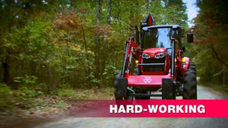 Massey Ferguson 1700E Series and 4600 Series Tractors TV Spot