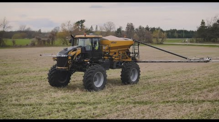 Meet the new RoGator® AirMax® Precision R1/R2 application system