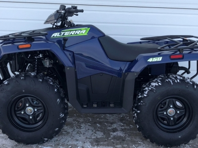 2021 Arctic Cat Alterra 450 ATV Earth Blue
