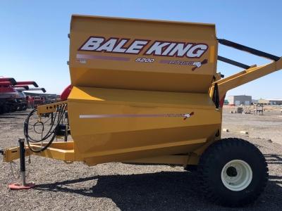 2019 Bale King 5200 TR Bale Processor