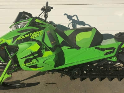 2017 Arctic Cat Mountain Cat 8000 153