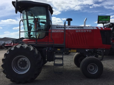 2018 Massey Ferguson WR9970 Windrower