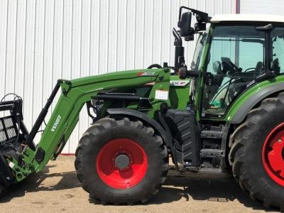 2019 Fendt 516 Vario Tractor