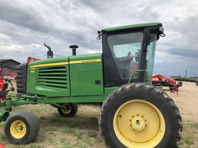 2012 John Deere A400 Windrower With 30\' HoneyBee Draper Header