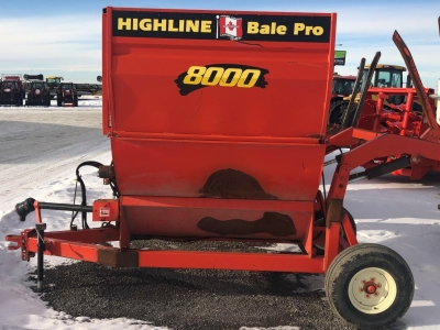 Highline 8000 Bale Pro Bale Processor