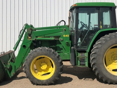 1994 John Deere 6400 FWA Tractor