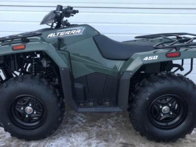 2021 Arctic Cat Alterra 450 ATV Green