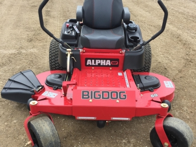 2018 BigDog Alpha MP 60\ ZT Mower