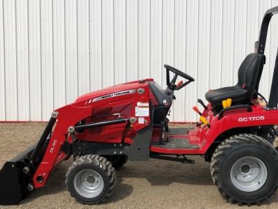 2018 Massey Ferguson GC 1705 Tractor