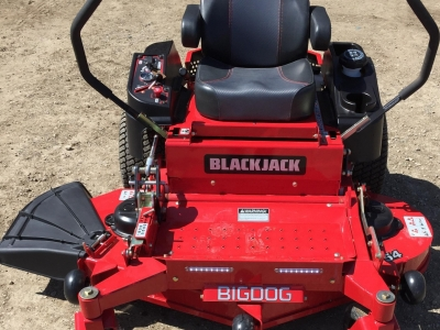 2017 BigDog BlackJack 54\ ZT Mower