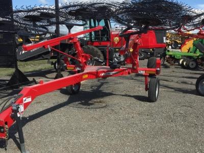 2017 Massey Ferguson 1512 Superwheel V Rake