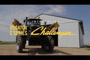 Precision Application, Less Crop Damage - The new RoGator C Series