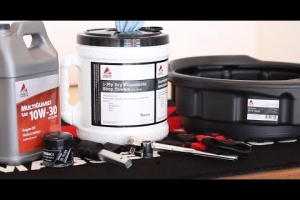 AGCO DIY Series: How to change the fuel filter - Massey Ferguson GC1700