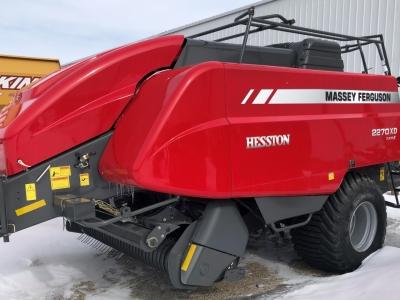 2021 Massey Ferguson 2270XD Square Baler